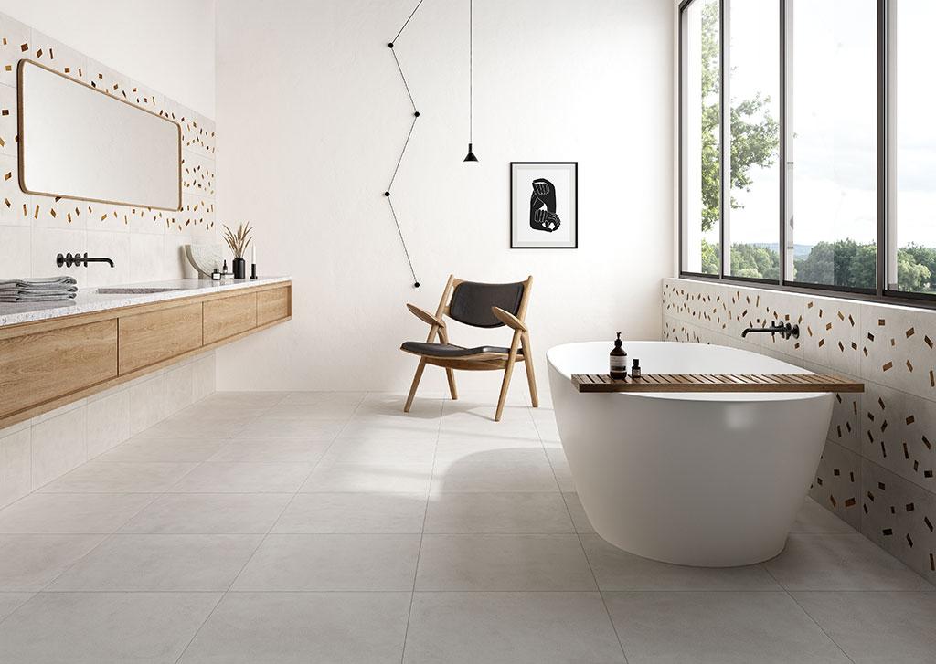 piastrelle-bagno_Ceramica-Fioranese_Sfrido_Cemento1-Bianco